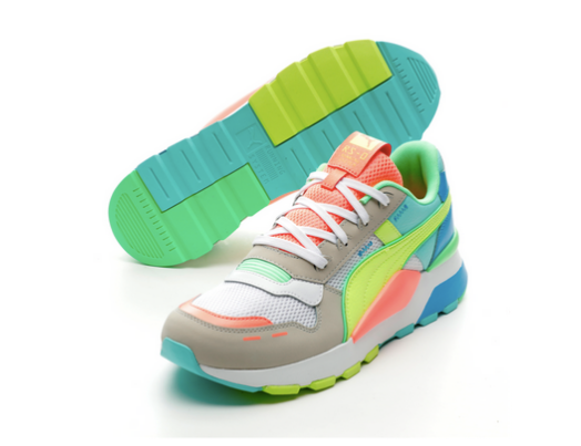 Puma RS 2.0 NRGY - Coral / Neon Yellow