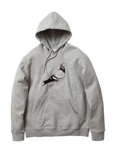Staple Pigeon Logo Hoodie - Heather Grey
