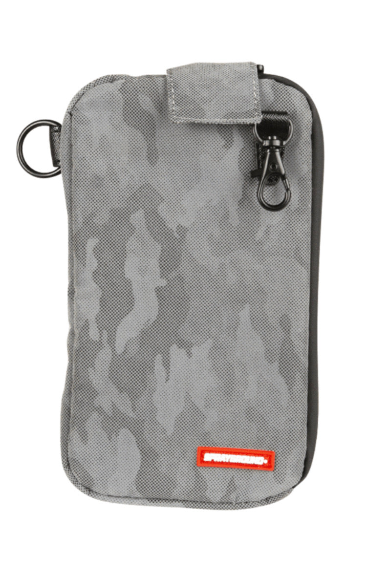 Sprayground Camo Transporter Smell Proof Coin Pouch