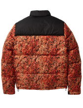 Load image into Gallery viewer, Staple Snakeskin Puffer Jacket - Orange