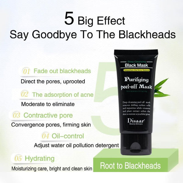Deep Cleaning Acne Effective Comedo Remover Black Mask