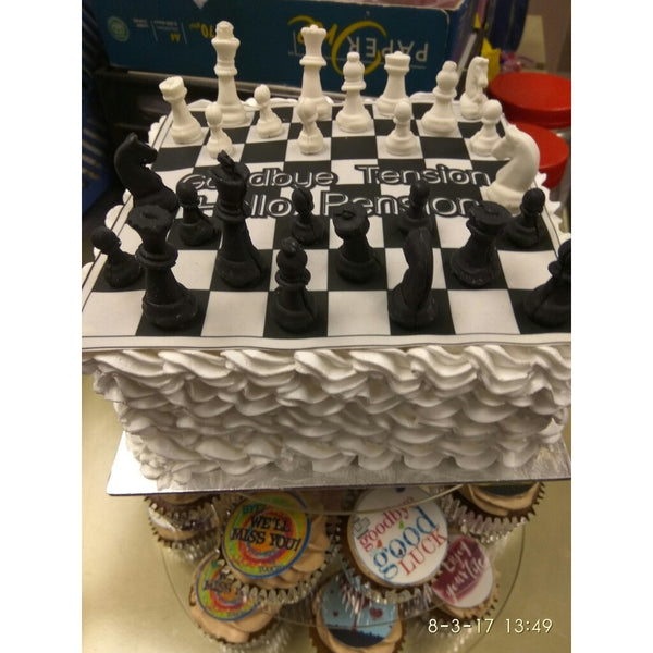 Chess Shaped Ice Chocolate Sugar Cake Silicone Mini Cube Cube Tray Chess