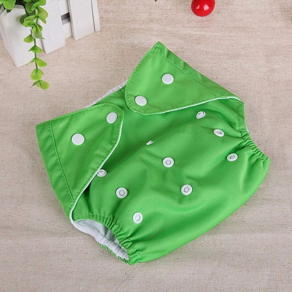 Reusable Baby Infant Nappy Cloth Soft Cover Washable Adjustable Free Size Diaper