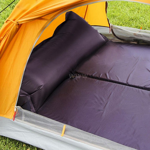 Camping Matress 188 * 57 * 2.5cm Waterproof Automatic Inflatable Self-Inflating Dampproof Sleeping Pad Tent Air Mat Mattress wit
