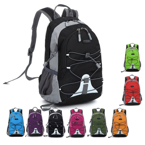 Unisex Mini Outdoor Shoulder Bag Backpack Ultralight Hiking Cycling Backpack Waterproof