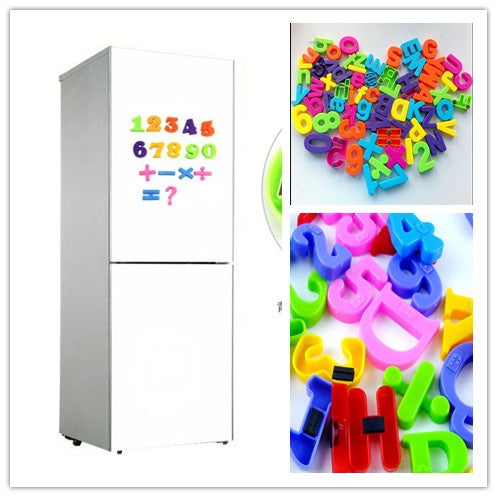 New Set Of 36 Colorful Teaching Magnetic Numbers Fridge Magnets Alphabet SHANSHAN