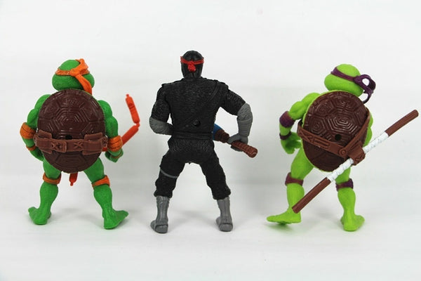 "Teenage Mutant Ninja Turtles 4.5"" Action Figure TMNT 6pcs/Lot Toys"