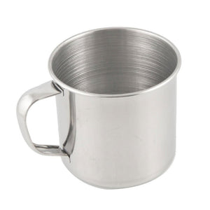 Stainless Steel Coffee Tea Mug Cup-Camping/Travel-3.5