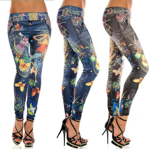 New Women's High Elasticity Fashion Stretch Skinny Leggings Tights Pencil Leggings