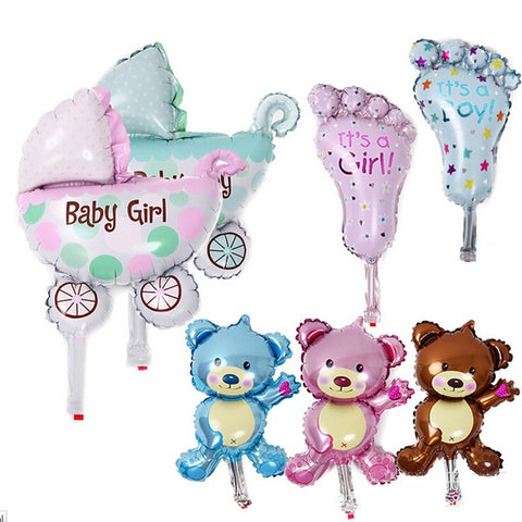 7Pcs/lot Baby Girl/Boy Balloons