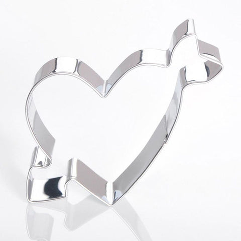 Love Heart with Arrow Cookie Cutter