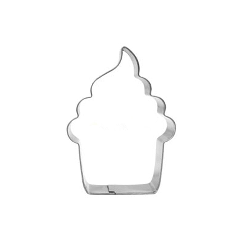 Cupcake Stainless Steel Cookie Cutter
