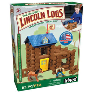 Knex Limited Partnership Group 00848 Lincoln Log Hill Station
