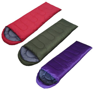 5 Colors Portable Ultra Light Cotton Outdoor Camping Sport Sleeping Bag Warm Equipment