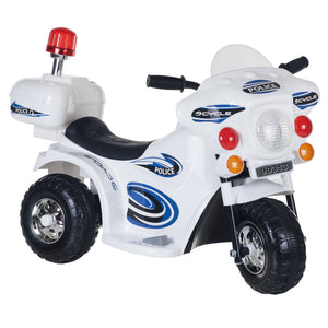 Ride on Toy, 3 Wheel Motorcycle for Kids, Battery Powered Ride On Toy Toys for Boys and Girls, Toddler - 4 Year Old, Police Car