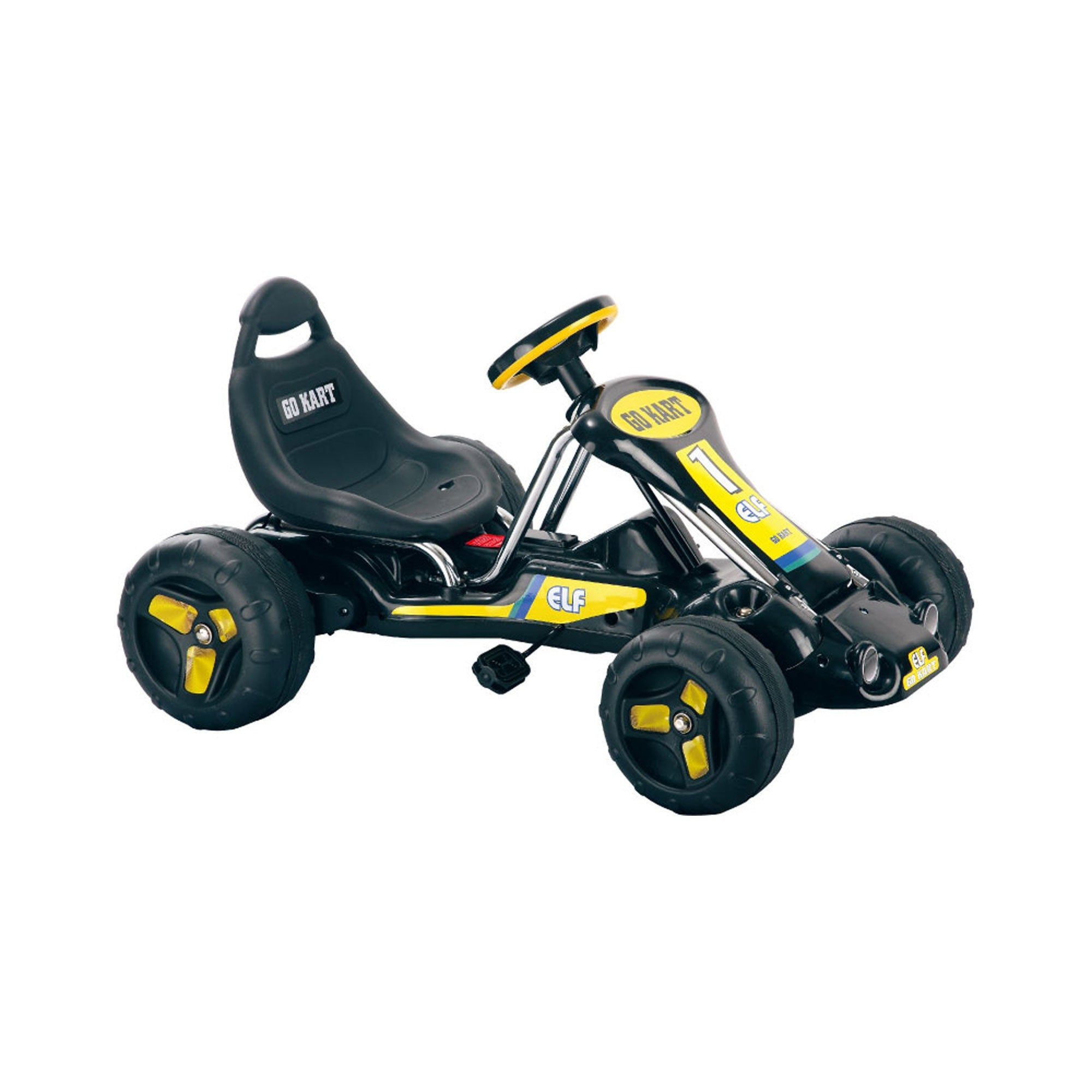 Ride On Toy Go Kart, Pedal Powered Ride On Toy Ride On Toys for Boys and Girls, For 3 - 5 Year Olds