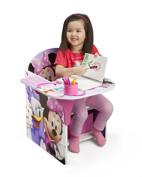 Chair Desk With Storage Bin - Minnie Mouse
