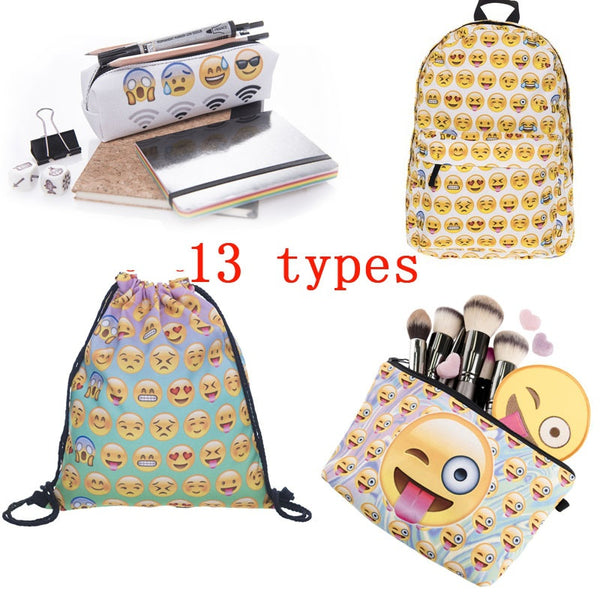 Emoji Backpack Fashion
