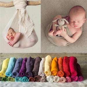 Fantastic Newborn Baby Girl Boy Wraps Blanket Posing Swaddle Cover Photography Prop Suitable for ages in children (0-6 months)