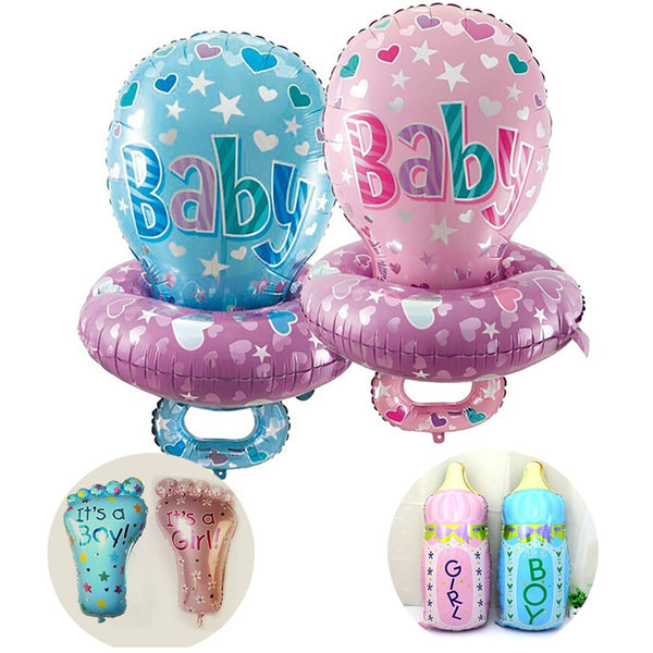 Baby Shower Pacifier Foil Balloons