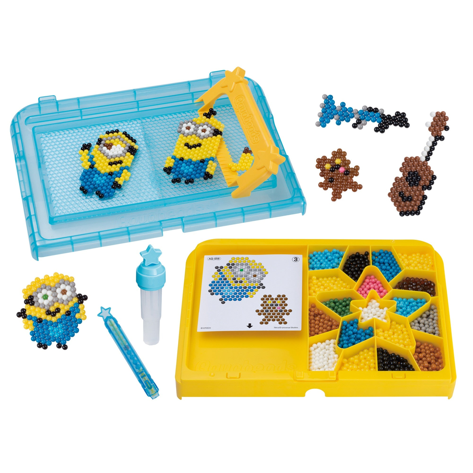 International Playthings - Aquabeads Minions Playset
