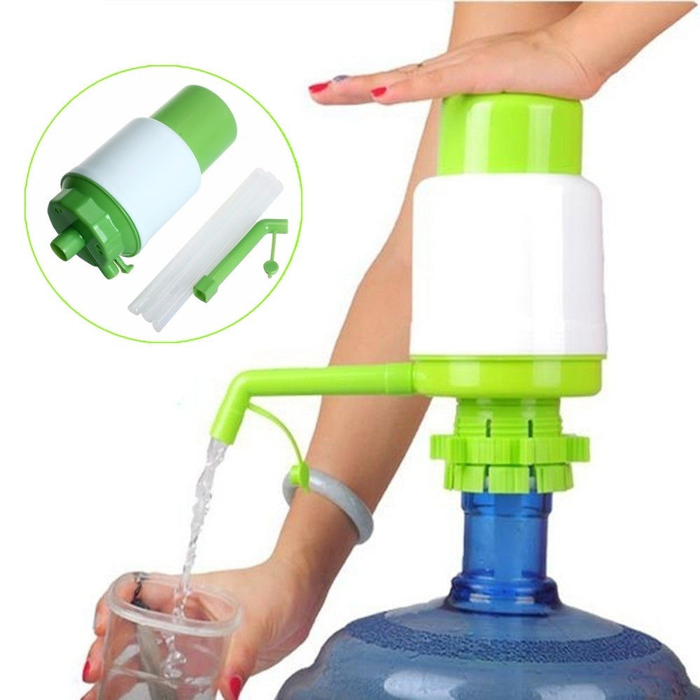 Water Drinking Ideal Bottled Manual Pump Dispenser Faucet Tool (Color Random)
