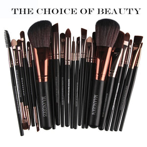 Hip 25pcs/set Makeup Brush Set Tools Wool Brushes Kits