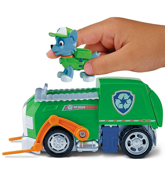 Paw Patrol Basic Vehicle - Rocky's Recycling Truck