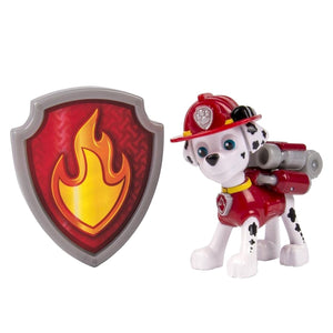 Paw Patrol Action Pup With Badge - Marshall