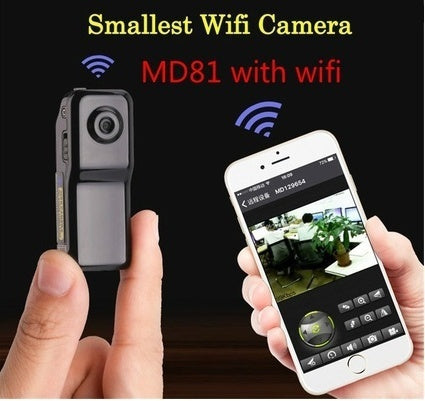 Smallest HD Mini MD81 MD80 Camera Wireless IP Wifi Dv Dvr Video Record Camcorders (Size: MD80 without Wifi Camera; MD81 with Wif