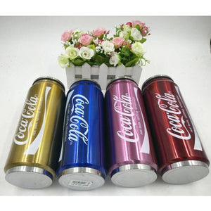 2017 Outdoor Coca Cola Sports Water Bottle Stainless Steel Vacuum Cup Insulation Bowling Cup