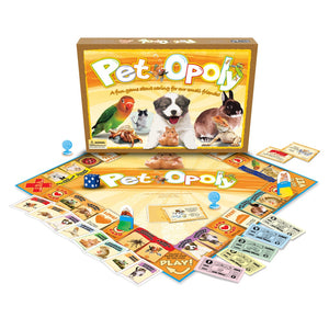 Pet-opoly Game (Size: One Size)