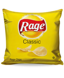 Rage Chips Couch Pillow