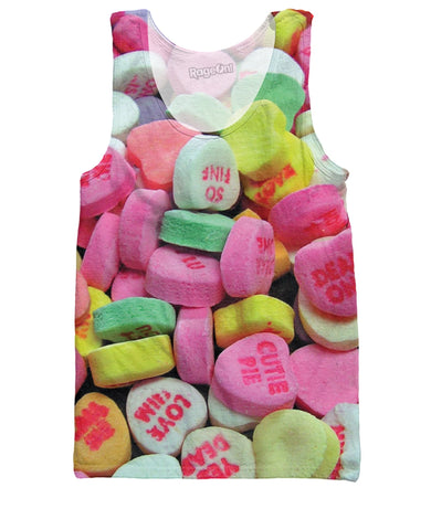 Candy Hearts Tank Top