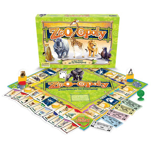 Zoo-opoly Game (Size: One Size)