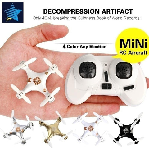 2018 New Year's Gift ! Hot RC Kids Toys Original Cheerson CX-10A 2.4GHz 4CH RC Quadcopter NANO Drone UFO with Headless Mode Func