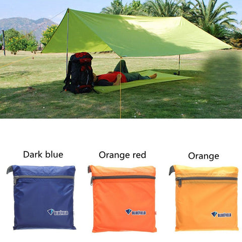 Waterproof Outdoor Portable Camping Hiking Beach Tent Sunshade Shelter Canopy Tentage Sun Shade Cover Only Sunshade
