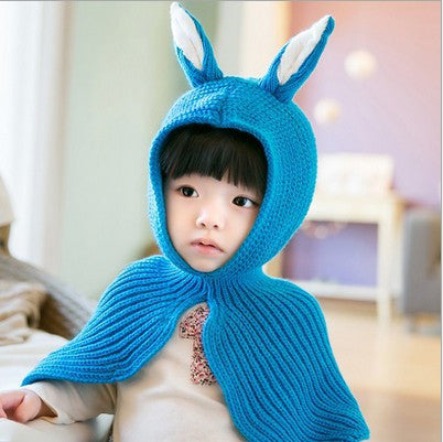Unique Rabbit Overcoat-Hat for Kids