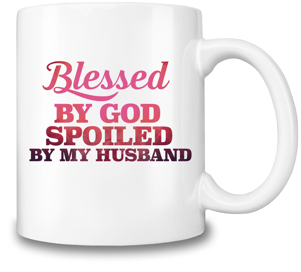 Blessed By God Coffee Mug