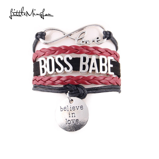 Boss Babe Leather Bracelet