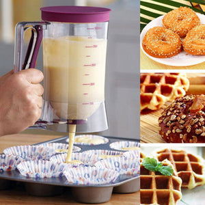 Cupcakes Pancakes Cookie Cake Muffins Baking Waffles Batter Dispenser Cream Speratator Measuring Cup baking tools for cakes