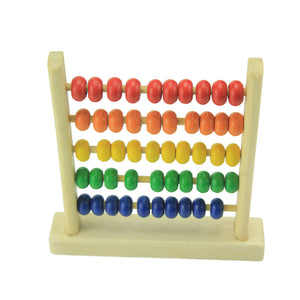 Mini Beads Abacus Wooden Educational Toys for Kids Children's Wooden Toys Baby Kids Boys Math Early Learning Toy Brinquedos