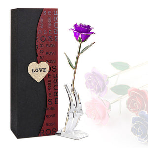 Valentine's Day 24K Gold Artificial Rose