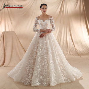 2018 New Arrival Wedding Dress Champagne Wedding Dress - Hoot & Nanny
