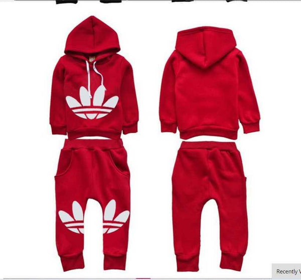 Retro Adidas Outfit - Charmer Baby