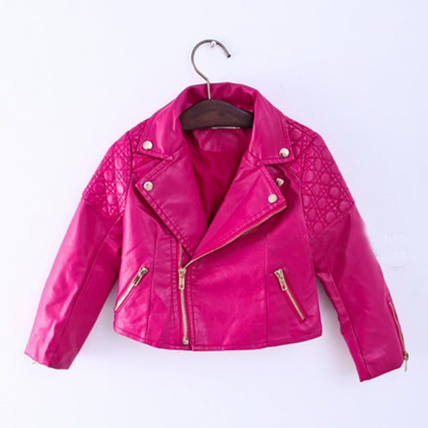 Leather Jacket - Charmer Baby