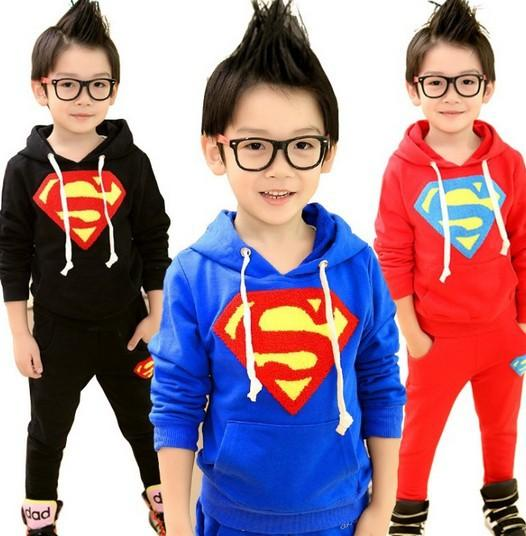 Superman Suit - Charmer Baby