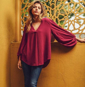 Endless Possibilities Blouse - Magenta