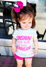 Sunshine + Hurricane - Toddler Unisex Tee