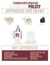 FLorida State - Clear Cross Body Bag/Clutch